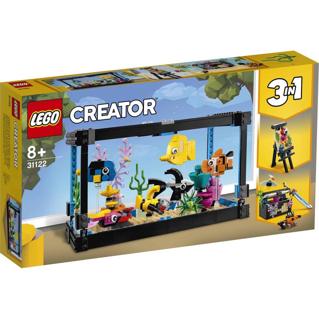 LEGO 樂高 31122 魚缸
