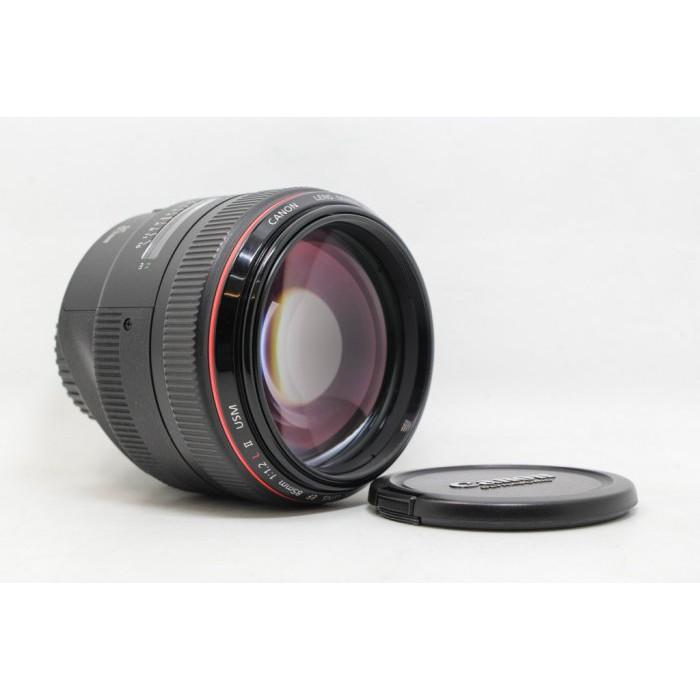 【台中青蘋果3C】Canon EF 85mm f1.2 L II USM UA鏡 二手鏡頭 定焦鏡 人像鏡 #21902