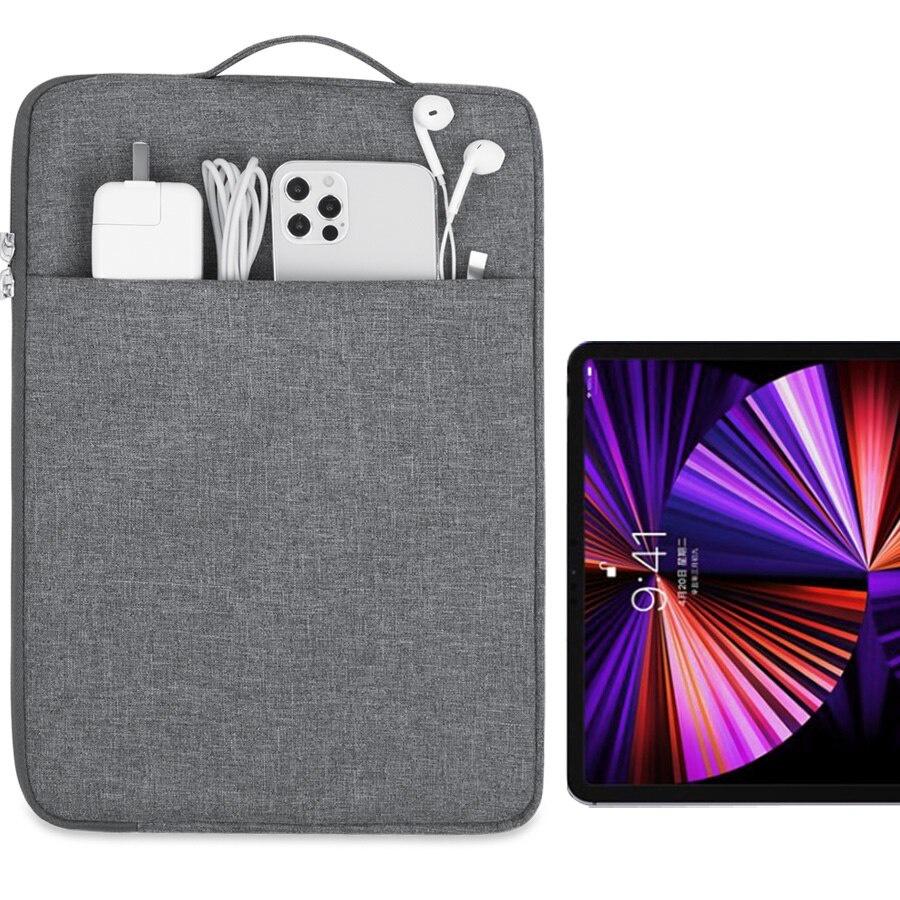 適用於 2021 Ipad Pro 12.9 袋 Apple Ipad Pro 12.9 第四代第三代防震袋 Capa
