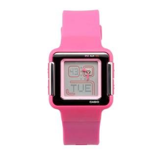 #手錶# CASIO#卡西歐CASIO女士時尚手錶 運動戶外防水電子手錶學生錶LCF-21-4D#時尚# Tv9r