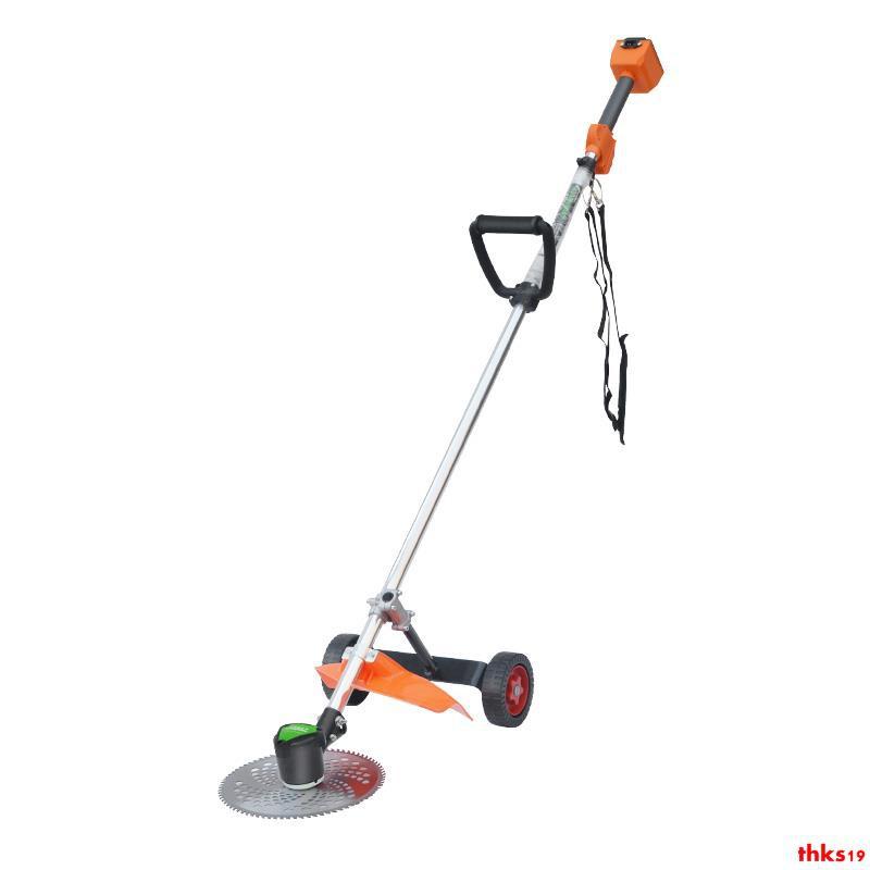 充電式割草機電動車割灌機草坪機除草機打草機背負式園林收割機