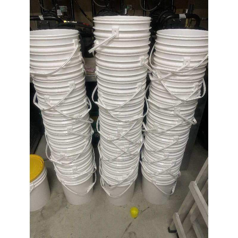 20L 塑膠桶 導流孔+防漏壓條 塑膠桶/化工桶/密封桶/收納桶/儲放桶
