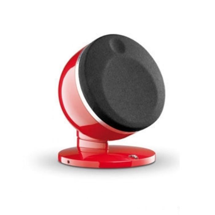 法國FOCAL DOME 2.0 紅色時尚鏡面兩聲道喇叭《名展影音》