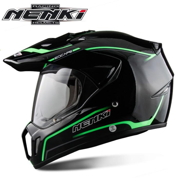 全罩式安全帽 越野帽 限量多色 國際dot認證 nenki 310
