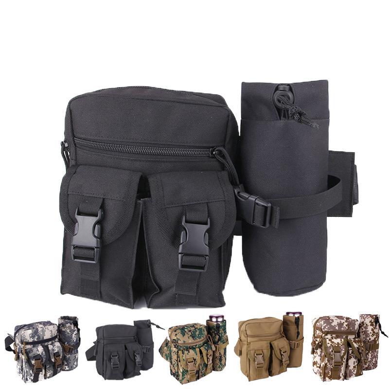 戶外運動多功能包 迷妳包跑步戰術腰包 手機包水壺可拆穿腰帶掛包