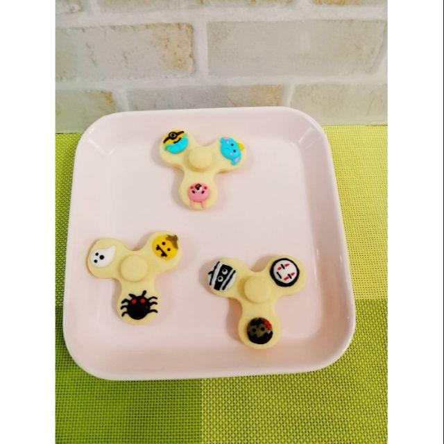 ***米克家庭烘焙***手工造型餅乾~兒童節禮物 生日派對/婚禮/第二次進場/彌月/情人節 餅乾小物 可吃可玩指尖陀螺