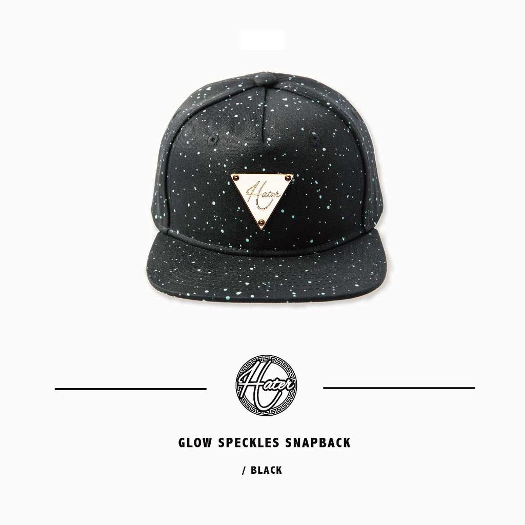 Hater Snapback【HT196~197】Glow Speckles Snapback 夜光潑漆棒球帽