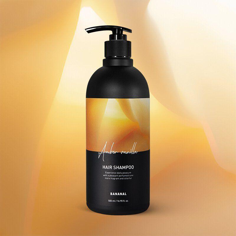 BANANAL 韓國胺基酸香氛洗髮精 - 晨光琥珀 500ml 原價399