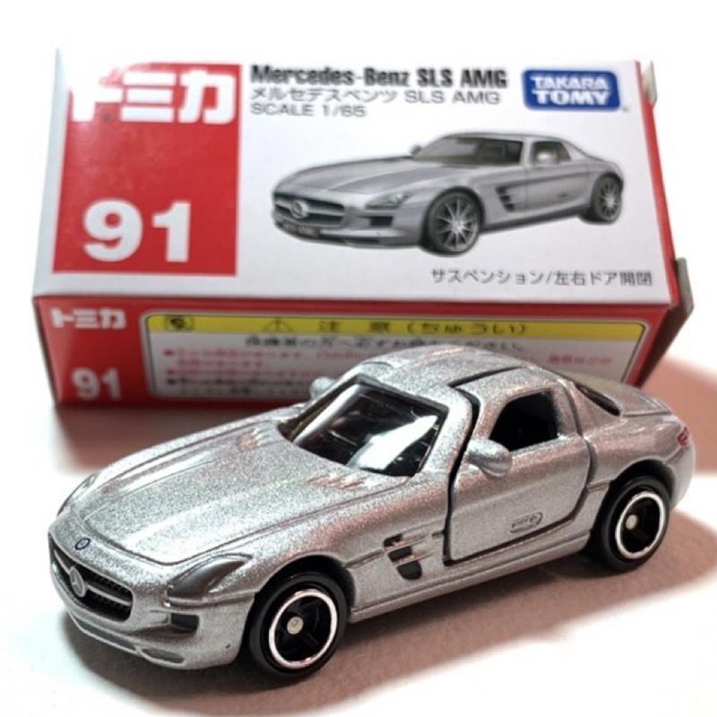 絕版 Tomica No.91 Mercedes-Benz SLS AMG