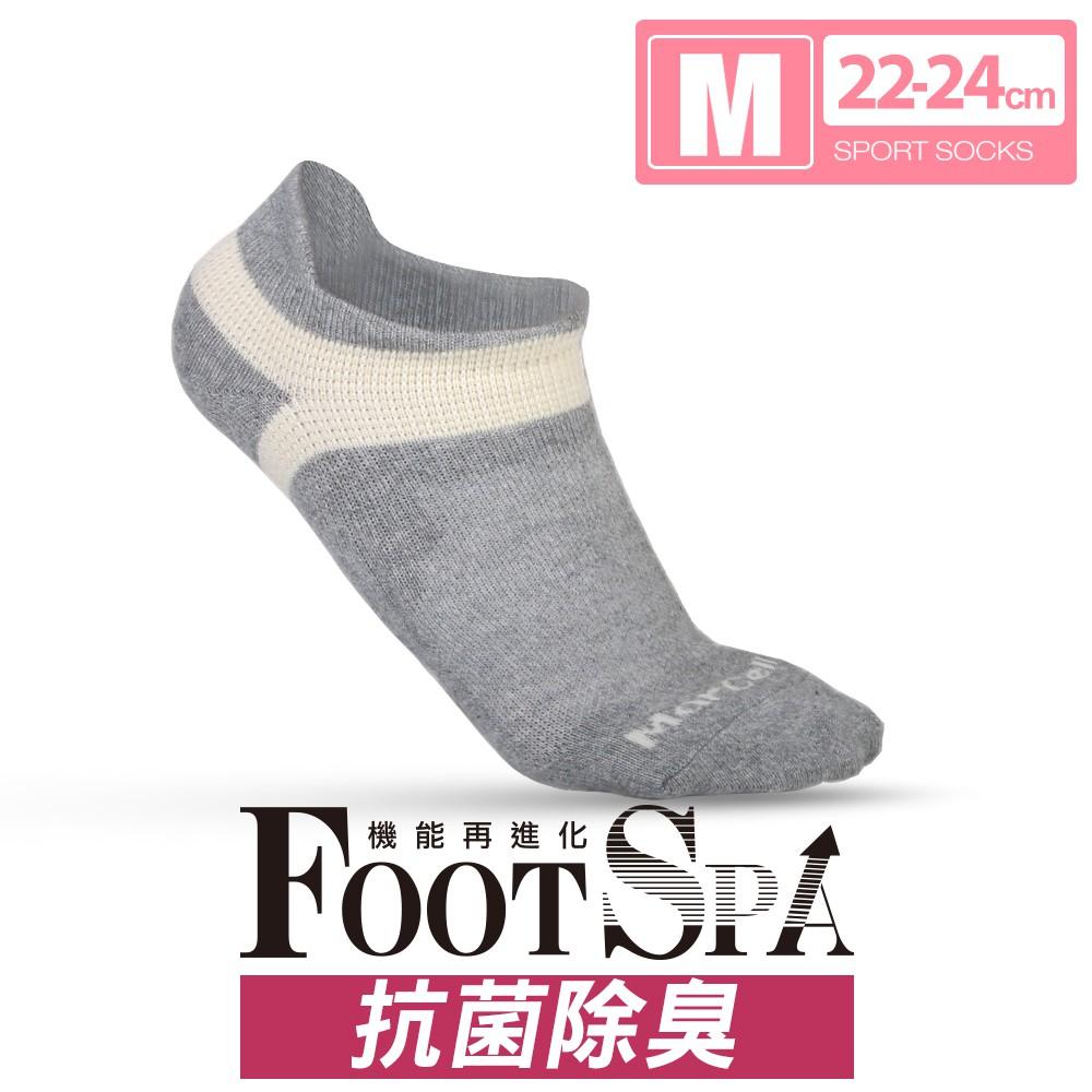 瑪榭 FootSpa抗菌護跟機能足弓運動襪(22-24cm) MS-21933