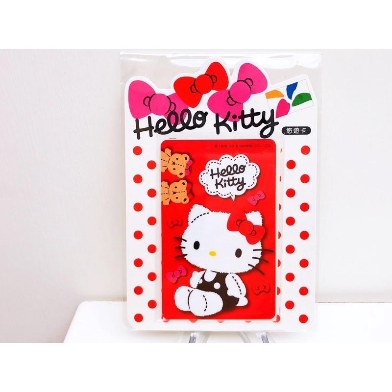 復古-Hello Kitty蝴蝶結悠遊卡-絕版