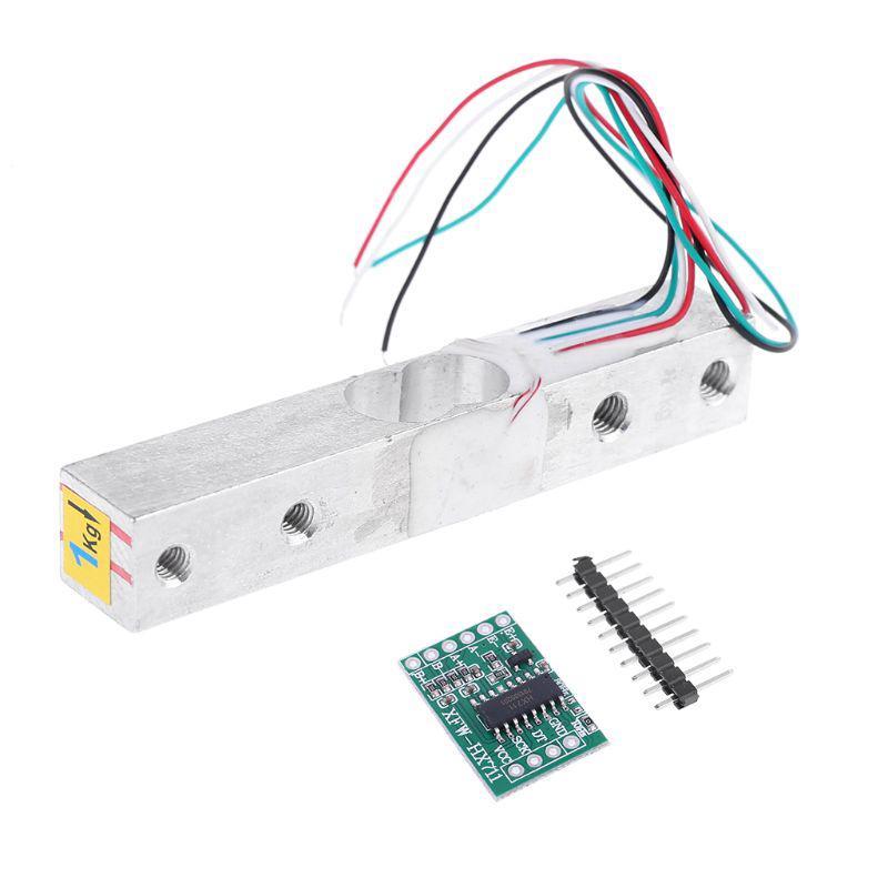 1KG稱重傳感器HX711 AD模塊重量傳感器電子秤