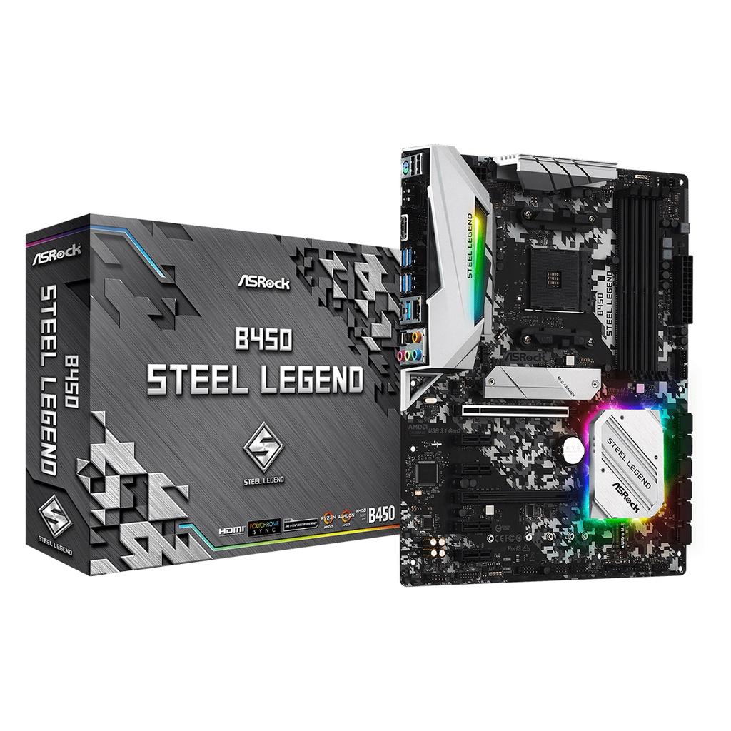 B450 Steel Legend AMD AM4主機板 6卡挖礦 6600XT