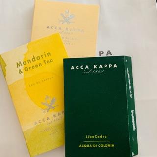 意大利ACCA KAPPA 白麝香試管香水(5ml) 雪松 地中海陽光 香精2ml 威尼斯花園淡香精 2ml 新竹市
