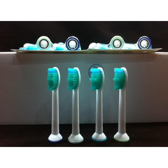 飛利浦PHILIPS 升級版音波電動牙刷 通用款 副廠 刷頭 單支價(一卡4支) 適用HX3,6,9,R系列