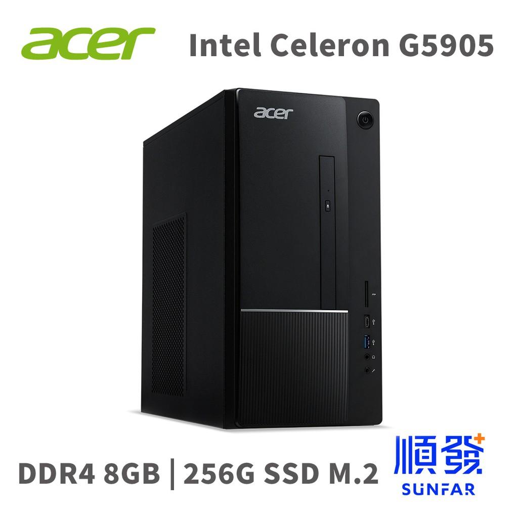 Acer 宏碁 TC-875 電腦主機 G5905 8G 256G 雙核電腦