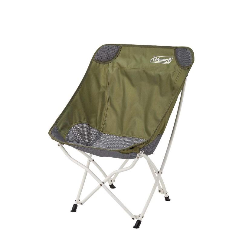 【大山野營-露營趣】新店桃園 Coleman CM-36430 療癒椅/橄欖綠 休閒椅 折疊椅 月亮椅 懶人椅 釣魚椅