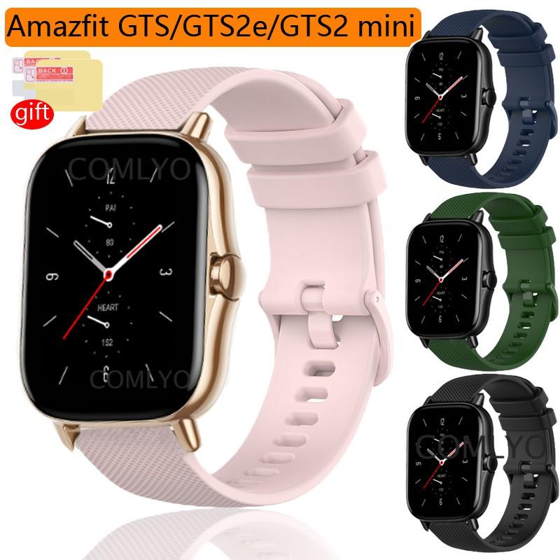 Amazfit Gts Gts2 Gts2E Gts2 Mini Strap Sport 手錶手鍊錶帶 Smartwat