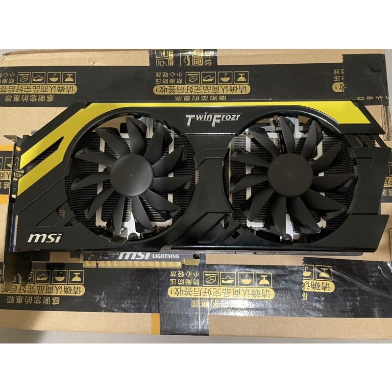 MSI GTX770 Lightning 2GD5