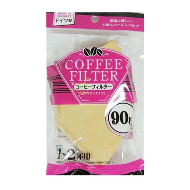 06211 咖啡濾紙(原色)90枚1~2杯用