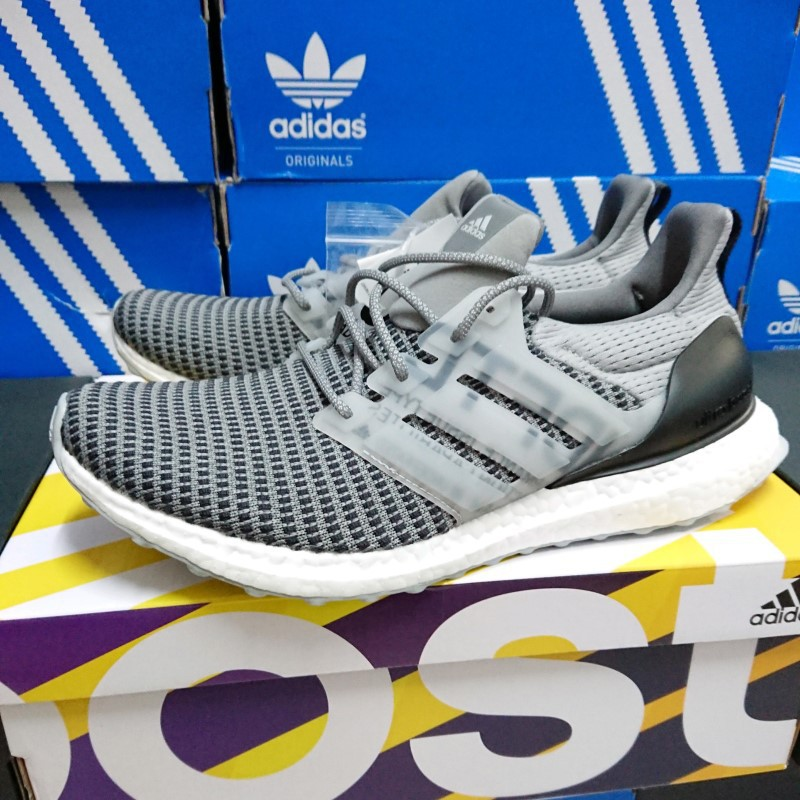 newest f8dc1 85bc3 【聚焦】 Adidas x Undefeated UltraBoost 4.0 Grey 灰 聯名 CG7148
