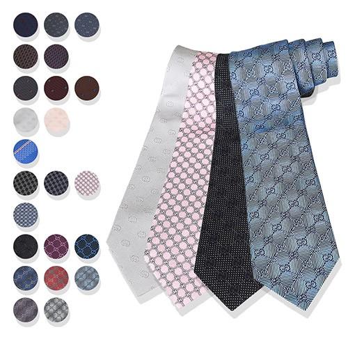 GUCCI 雙G LOGO蠶絲領帶(多款多色) 廠商直送