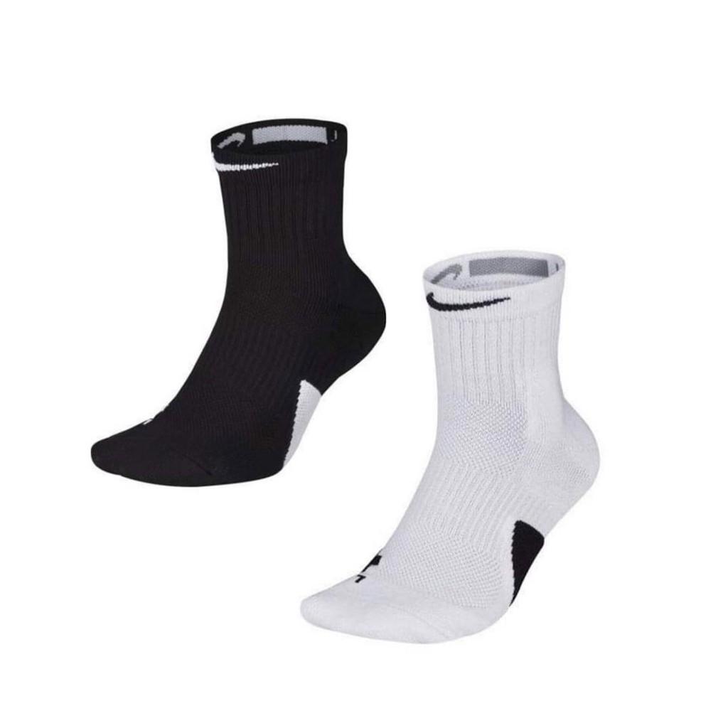Nike Elite Mid 黑白 兩色 中高筒 籃球襪 SX7625-013 SX7625-100
