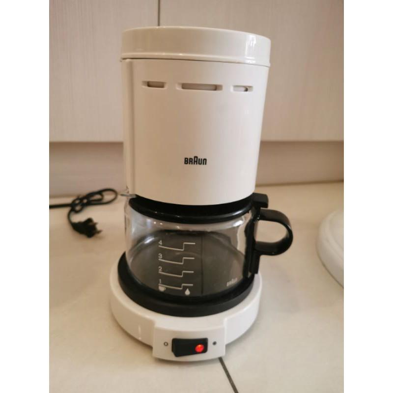 【百靈】德國BRAUN咖啡機 咖啡壺 白色4人( KF-10KF)