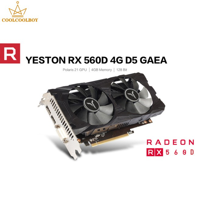 遊戲顯卡 Rx560 4gb Ddr5 Rx560 4gb Ddr5 顯卡
