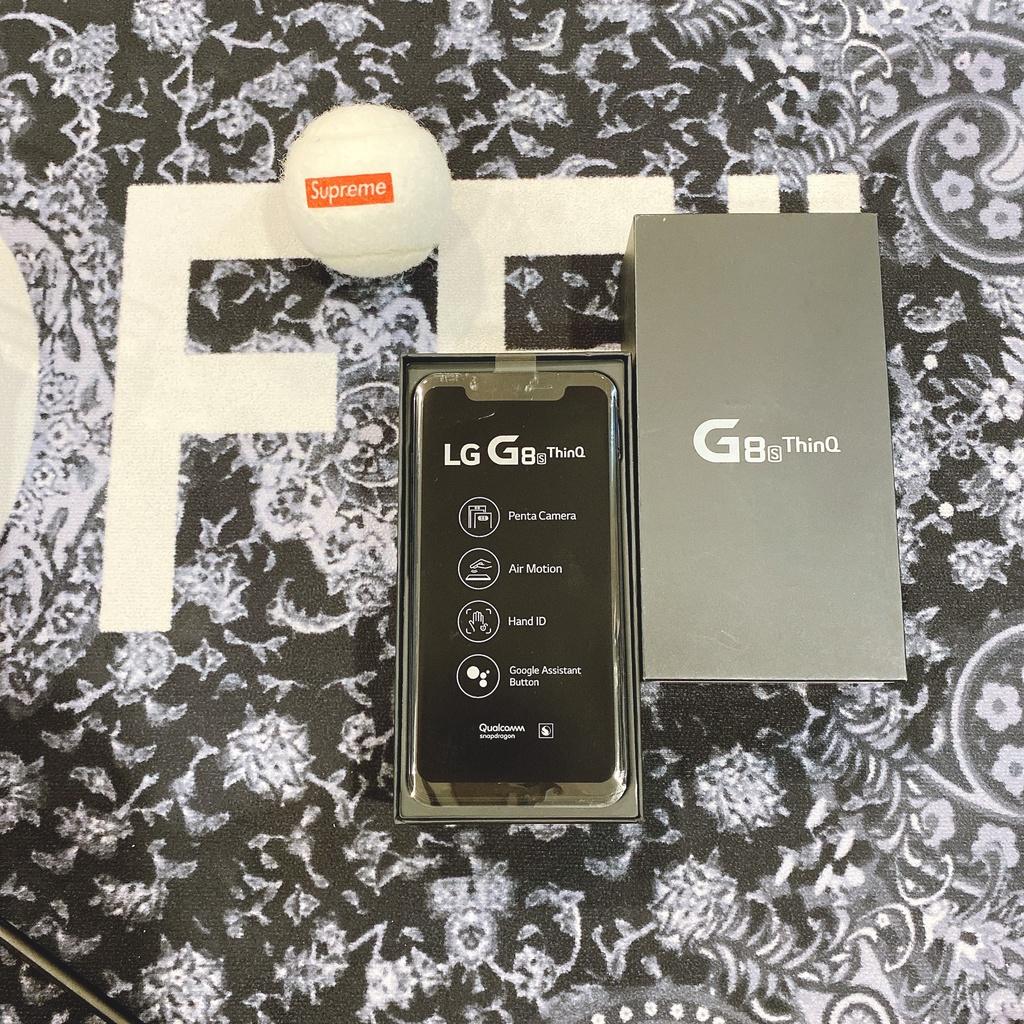 專案攜碼688最低 絕版僅拆封 LG G8S ThinQ 6G/128G 雙卡雙待 6.2吋大螢幕 蘋果手機皆可貼換