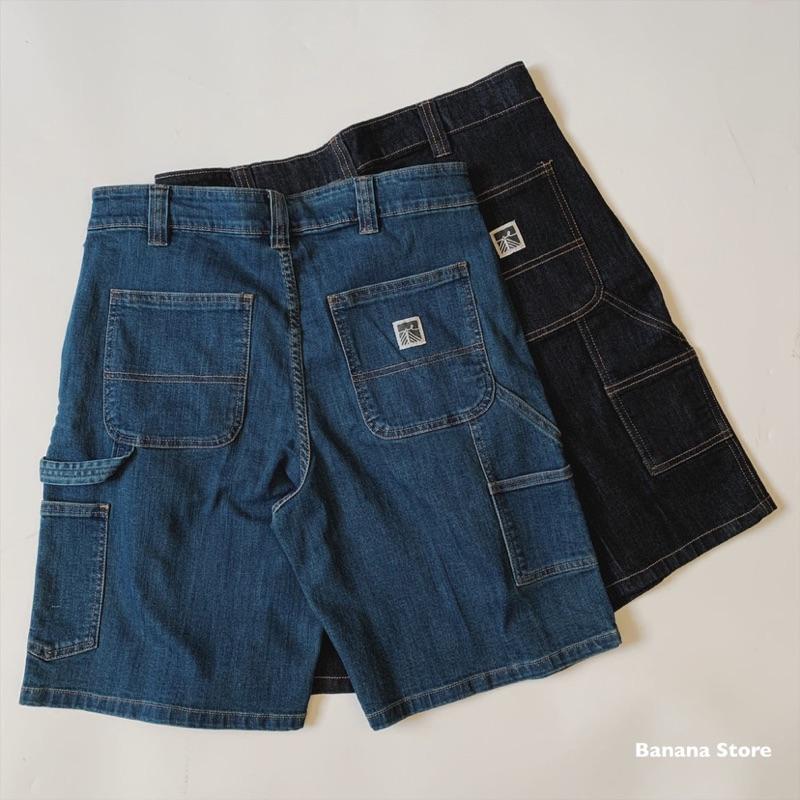 [Banana Store] 現貨 畫家牛仔短褲 多口袋牛仔褲 似Carhartt風格 [TC02]