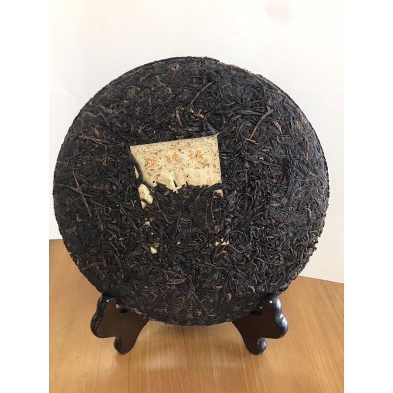 2001年楊聘號餅茶 雲南普洱茶生茶餅茶無包裝紙357g