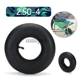 适用于8'推车轮弯曲阀空气的气动轮套内管2.50-4