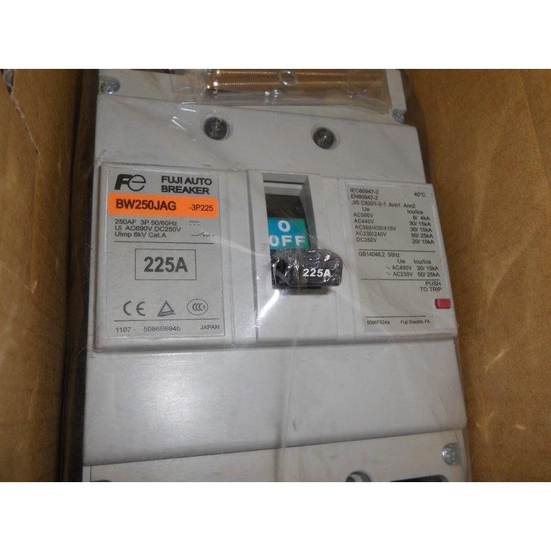 日本 FUJI 富士斷路器 BW250EAG BW250JAG 3P 125A -250A 無熔絲開關