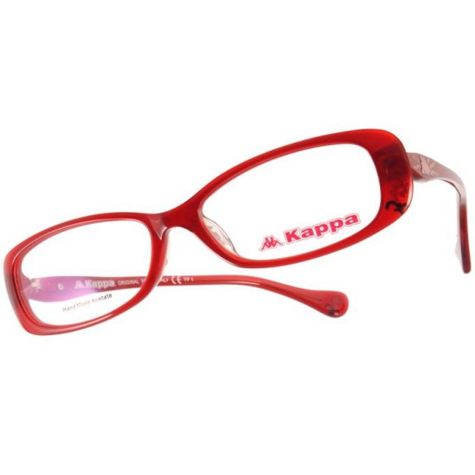 KAPPA 光學眼鏡 KP1010 RD 運動時尚款-金橘眼鏡