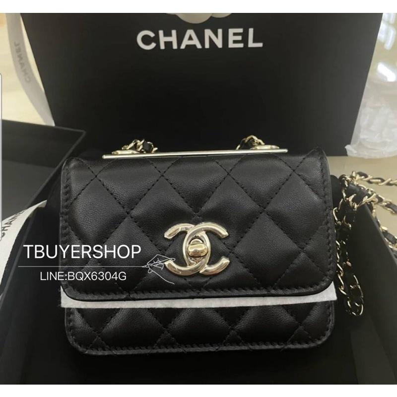 [TBUYERSHOP ]台灣現貨‼️ Chanel trendy cc mini 新版 超級可愛😍