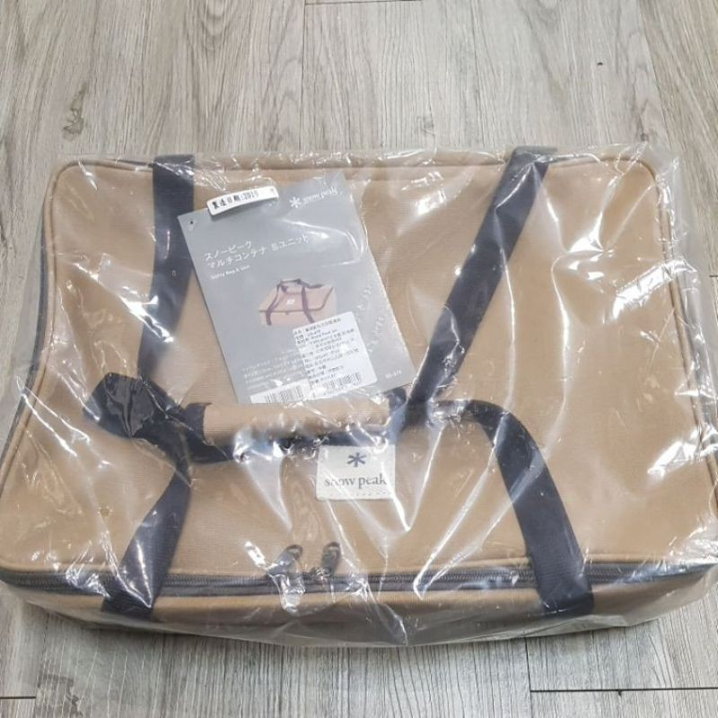 snow peak UG-078 萬用帆布方形裝備袋,可收納gs-400,gs-450