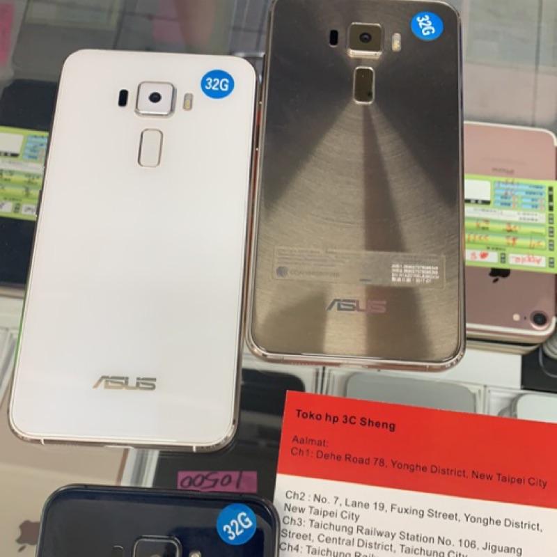 有發票 可刷卡 Asus ZenFone3 ZE520KL 5.2吋 3+32G 中古 二手手機 貨到付款 超商取貨付款