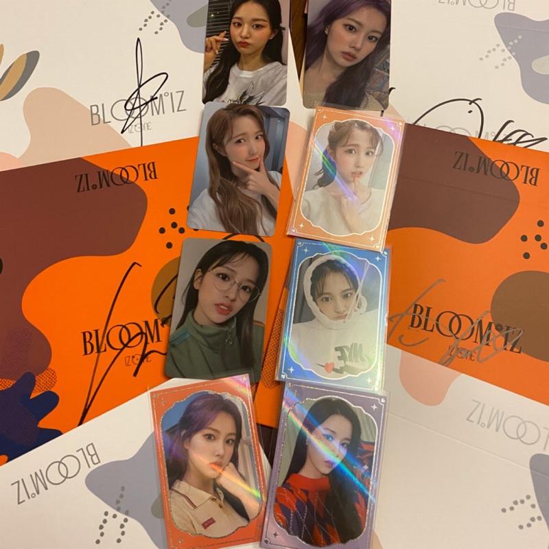 IZ*ONE 一輯mwave 簽名專輯+簽售卡