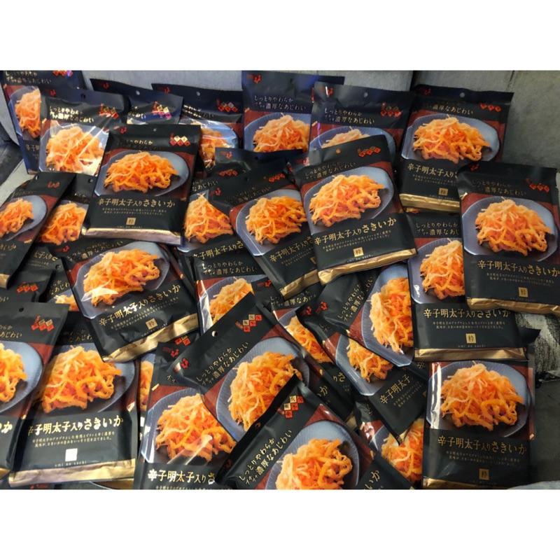 現貨不用等 日本製 井上食品 超好吃明太子魷魚絲 滿滿明太子