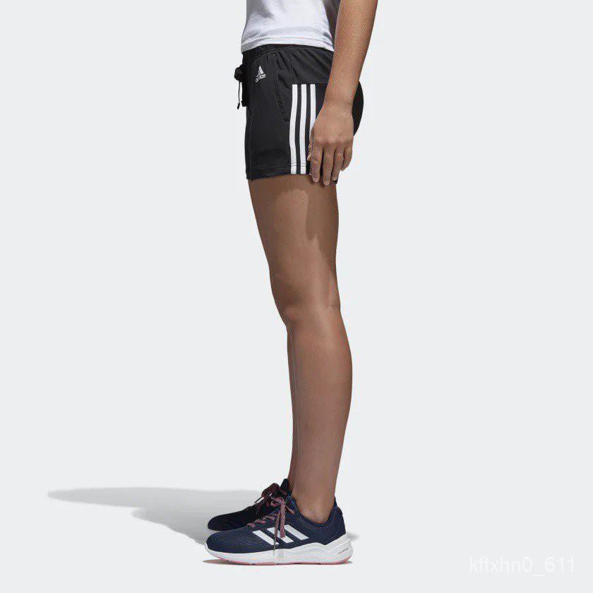 Adidas 愛迪達 ESS 3S SHORT 三線 女款 運動短褲 休閒短褲 運動褲 女短褲 BR5963 tX7M