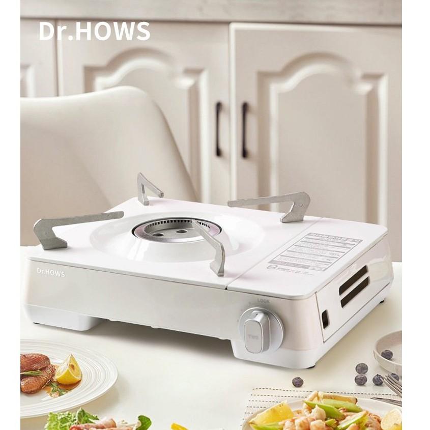防風爐Dr.HOWS 韓國進口卡式爐燃氣便攜爐戶外防風野炊家用燒烤燃氣爐灶 adqB