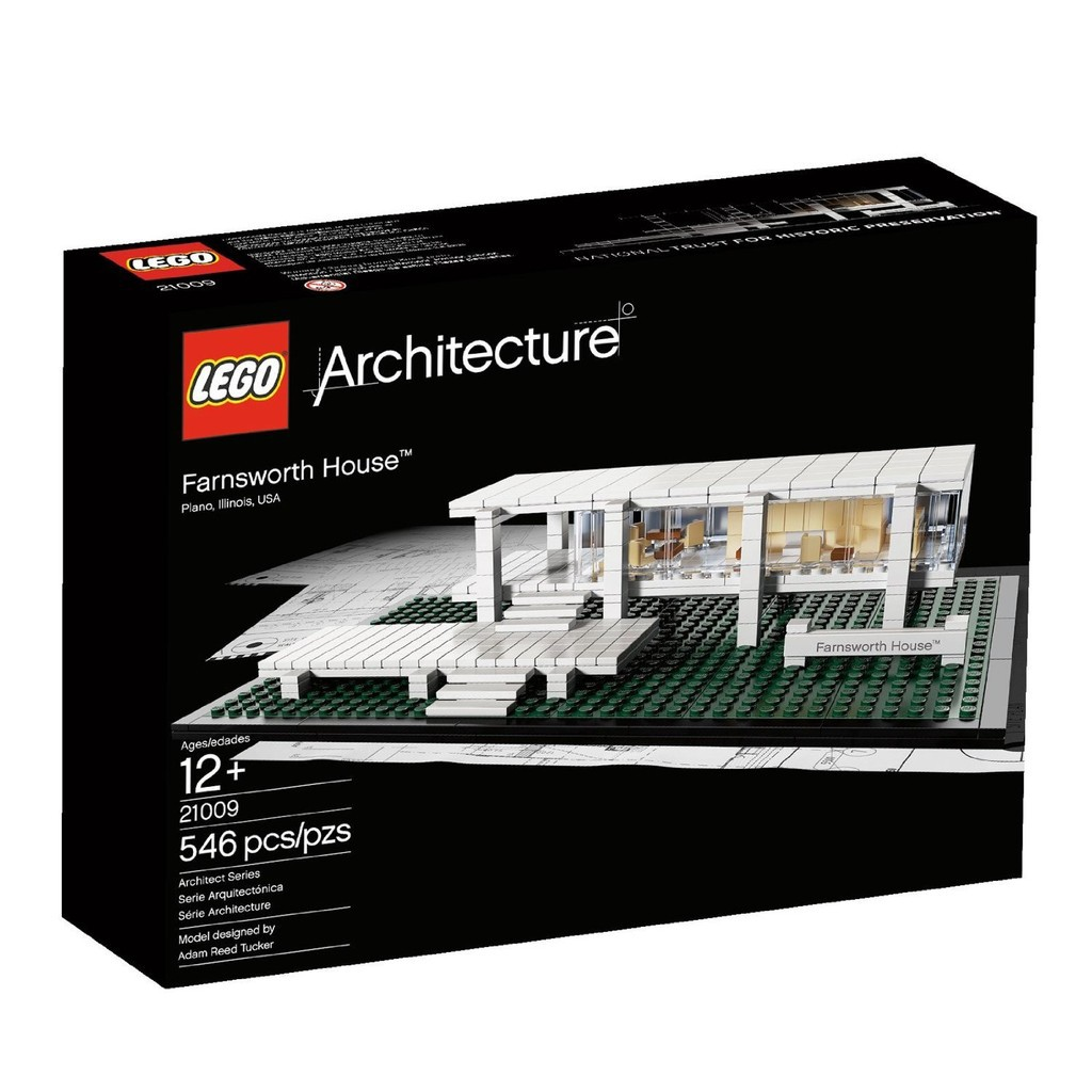 [玩樂高手附發票]公司貨 樂高 LEGO 21009 Farnsworth House