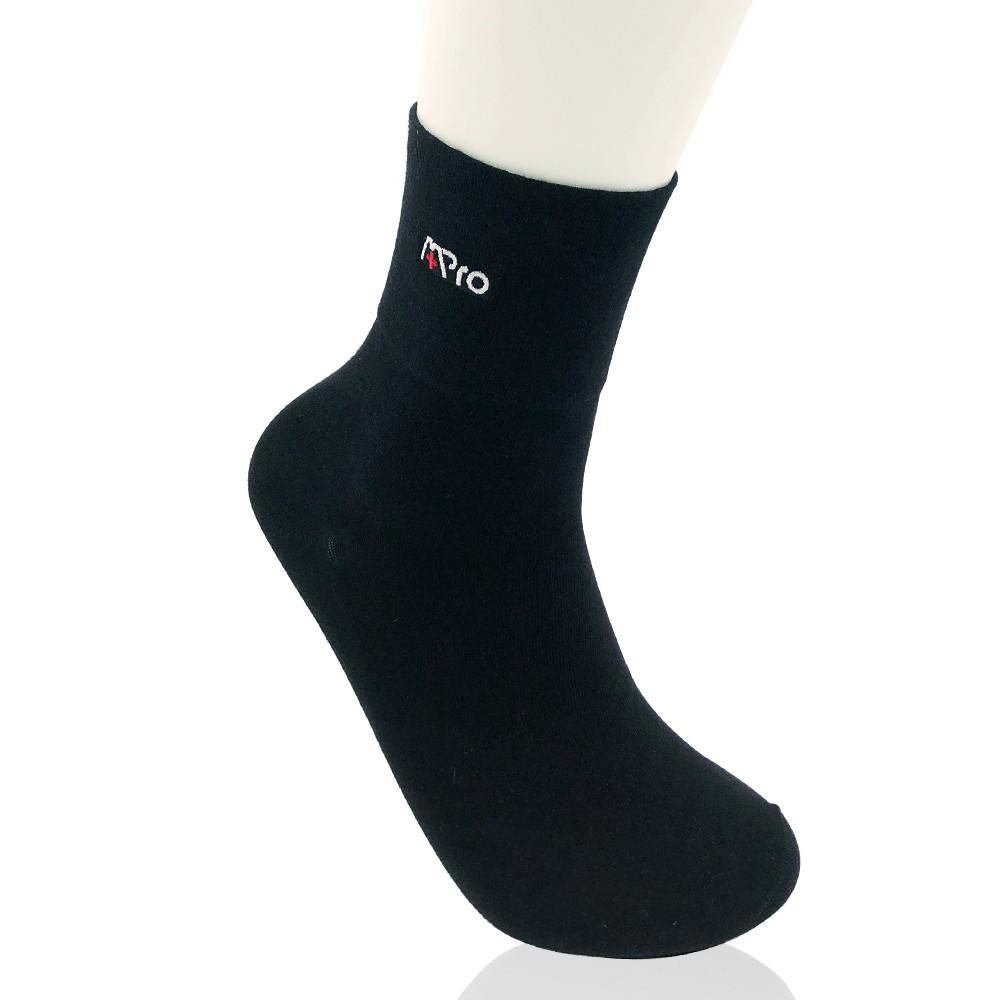 FRESHION 護立淨|抗菌除臭無痕紳士襪(黑)