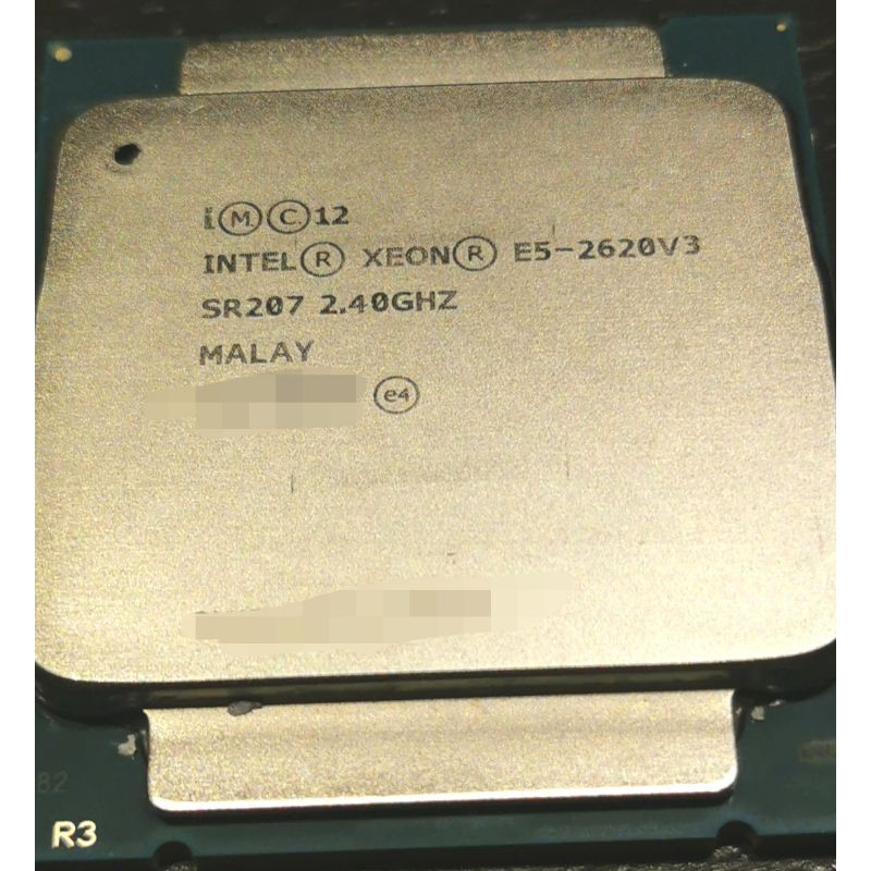 Intel Xeon E5-2620 v3 6C12T 正式版