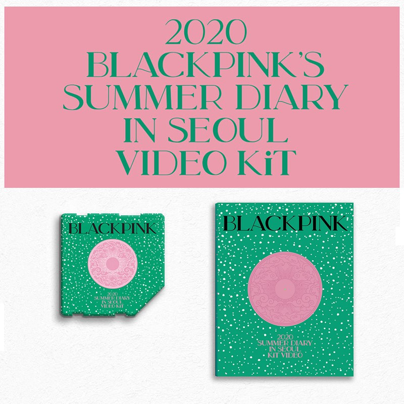 佳美稀🥇 BLACKPINK [2020 SUMMER DIARY IN SEOUL] KIT 智能卡
