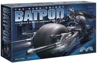 ◆弘德模型◆ Moebius Models 1/ 25 蝙蝠俠 黑暗騎士 摩托車 Bat-Pod Bat Pod 組裝模型 台北市