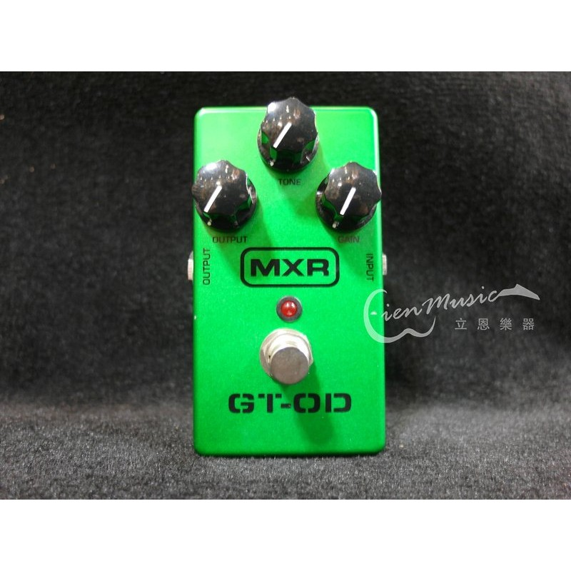『立恩樂器』免運優惠 凡買效果器送短導 Dunlop MXR M-193 M193 GT-OD Overdrive 破音