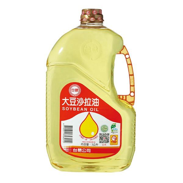 台糖大豆沙拉油 3L/瓶 【大潤發】