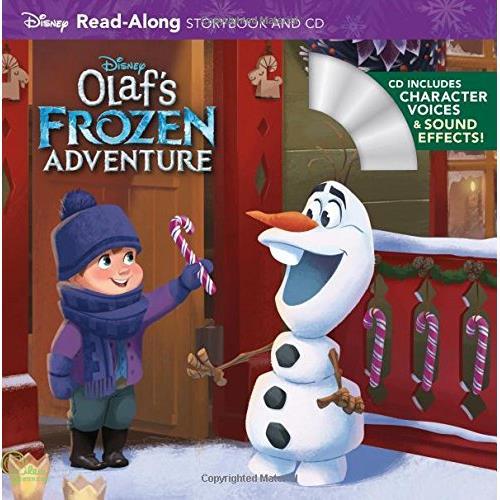 Olaf's Frozen Adventure (1平裝+1CD)【禮筑外文書店】(有聲書)[79折]